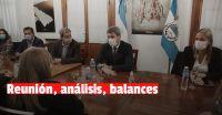 Los temas que habló Uñac, en una nueva reunión de gabinete