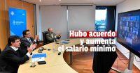 Acuerdan llevar el Salario Mínimo a $33.000 en febrero y la suba anual alcanza el 52,7%