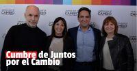 Laciar y Cornejo asistieron a la cumbre de Juntos por el Cambio en Buenos Aires