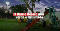 El Barrio Resero estrenó nueva plaza y luminarias