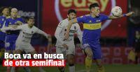 Copa Argentina: Boca enfrenta a Patronato buscando un lugar en las semifinales