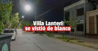 Capital cambió la luminaria de la Villa Lanteri