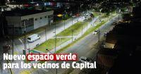 Renovación en Trinidad: inauguraron una plaza donde antes había un baldío