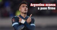 Argentina le ganó 1-0 a Perú y está a punto de asegurarse un pase a Qatar