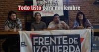 El Frente de Izquierda Unidad realizó su lanzamiento de campaña de cara a las elecciones generales